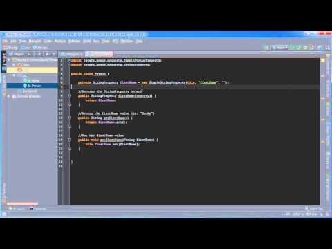 Javafx Java Guı Öğretici - 28 - Özellikleri