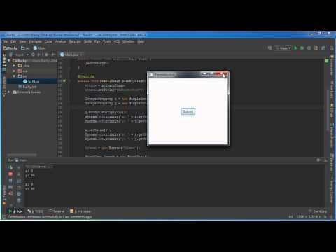 Javafx Java Guı Öğretici - 29 - Bağlama