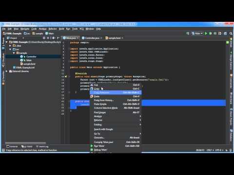 Javafx Java Guı Öğretici - 31 - Giriş Fxml