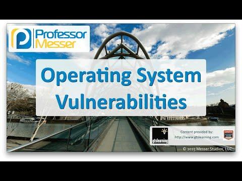 İşletim Sistemi Güvenlik Açıkları - Sık Ağ + N10-006 - 3.2