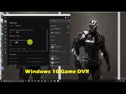Windows 10 Oyun Dvr Eller