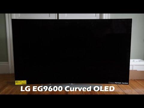 Lg 65Eg9600 Oled 3D Tv 4 K Unboxing Kavisli