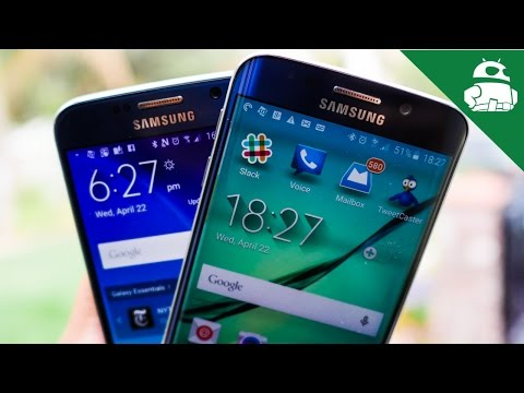 Samsung Galaxy S6 Vs S6 Kenar!