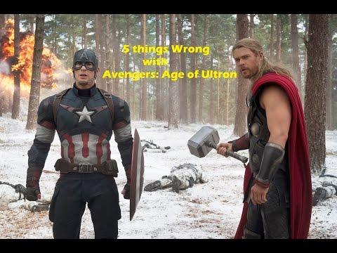 Avengers: Ultron-5 Şeyi Yanlış Yaş