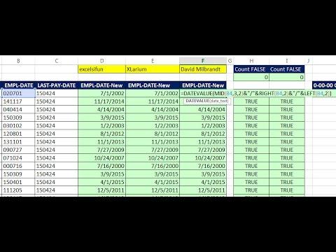 Excel Sihir Numarası 1196: Seri Numarası Tarihleri Yyaagg Metin Çıkıyor? 2 Daha Fazla Formülleri Ve Diğer İpuçları...