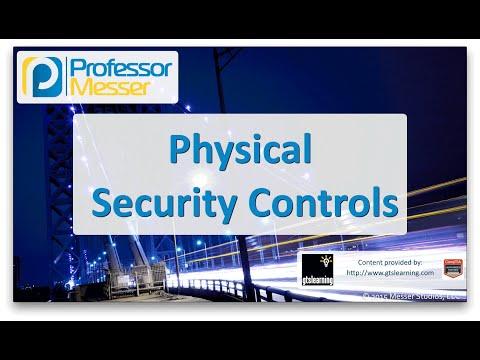 Fiziksel Güvenlik Kontrolleri - Sık Ağ + N10-006 - 3.4