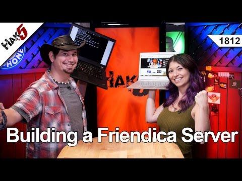 Bir Friendica Server, Hak5 Bina 1812