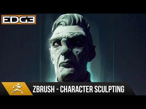 Zbrush Eğitim - Şerefsiz Stil Portre Zbrush 1080 P Hd Heykel Karakter