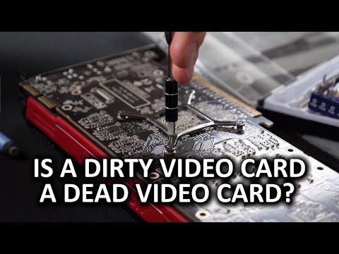 Ekran Kartı Çalışan Kötü? Video Temiz Kartı Soğutucu!