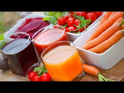 Nasıl Meyve Ve Sebze Meyve Suyu İçin Hızlı Hazırlayın | Oruç Ve Temizler