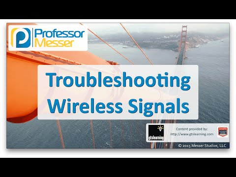 Kablosuz Sinyalleri - Sık Ağ + N10-006 - 4.3 Sorun Giderme