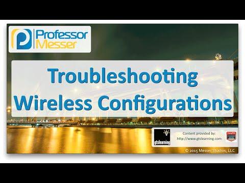 Kablosuz Yapılandırma - Sık Ağ + N10-006 - 4.3 Sorun Giderme