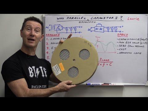 Neden Elektrolitik Kondansatörler Paralel Bağlı Eevblog #742-