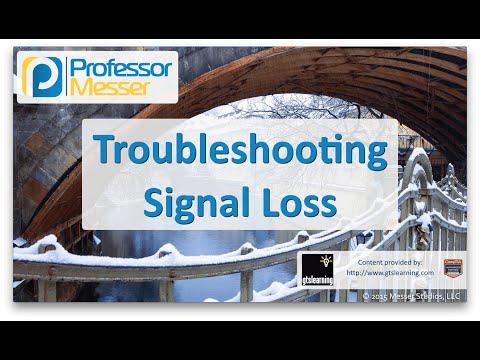 Sinyal Kaybı - Sık Ağ + N10-006 - 4.4 Sorun Giderme