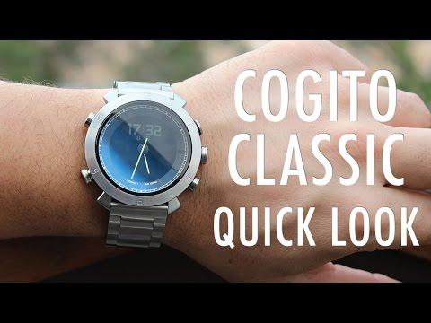 Cogito Klasik Hızlı Bir Bakış: Daha Fazla Bir Saat, Bir Smartwatch Daha Az