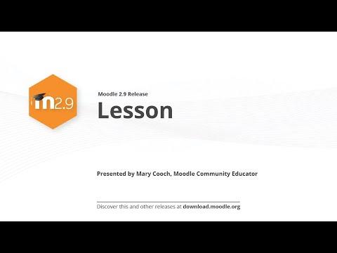 Moodle 2,9 Yayın Vurgulamaktadır: Ders