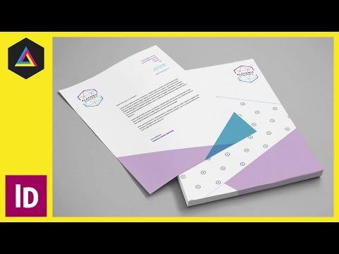 Adobe Indesign Ep8/15 [Multimedya Tasarımı Kursu - Yazdır] Bir Anteti Oluşturma