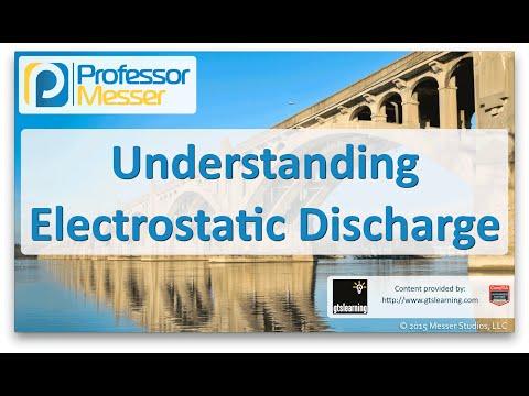 Statik Elektrik Boşalması - Sık Ağ + N10-006 - 5.6 Anlama