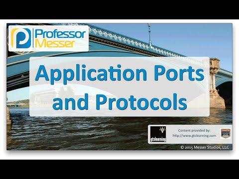 Uygulama Bağlantı Noktalarını Ve Protokolleri - Sık Ağ + N10-006 - 5.10