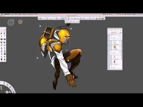 Autodesk Sketchbook - Nasıl Yapılır: Dönüştürmek   Deforme Et