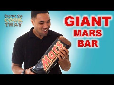 Dev Mars Bar / Sütlü Yol Tarifi Bu Ann Reardon Yemek Yapmayı