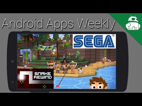 Nintendo Oyunları Yakında, Sega Oyunları Yakında, Kaldırmak İçin Yılan Geri Sarma Serbest Bırakmak İçin! -Android Apps Haftalık
