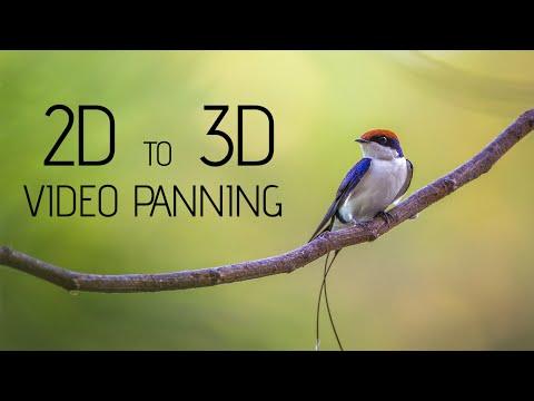 Photoshop Cc | Video Animasyon | 2D 3D Kaydırma Öğretici