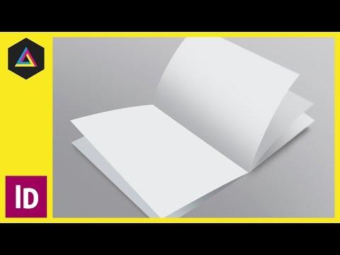 Bir Broşür Adobe Indesign Ep9/15 [Multimedya Tasarımı Kursu - Yazdır] Ayarlayın