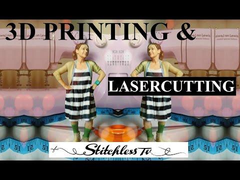 3D Baskı Ve Lasercutting