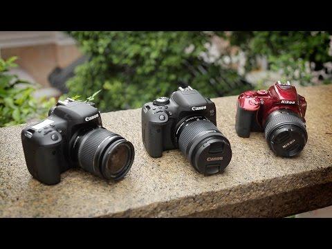 Canon 750 / 760D Vs Nikon D5500 Head-To-Head (T6İ/t6S)