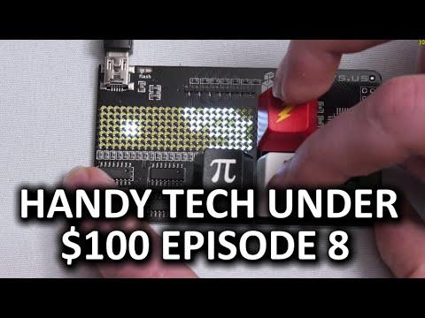 $100 Bölüm 8 - Altında Kullanışlı Teknoloji Sadece Düz Serin Malzeme