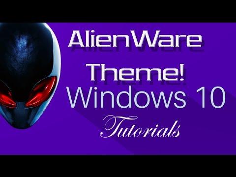 Alienware Tema İçin Pencere Eşiği 10