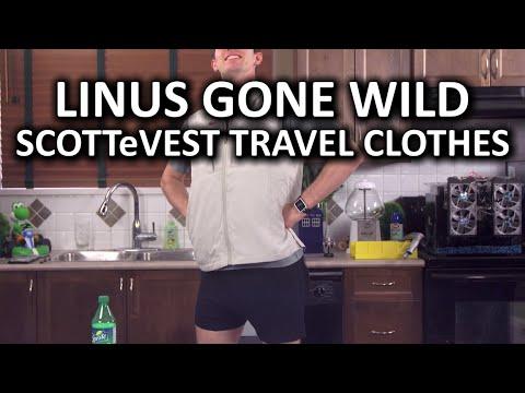Scottevest Seyahat Giysiler - Bu Senin Cebinde Bir Hesap Makinesi? ( ͡° ͜ʖ ͡°)