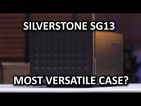 Silverstone Sg13 Bilgisayar Kasası - Küçük Biçim Amil İle Aşırı Çok Yönlülük