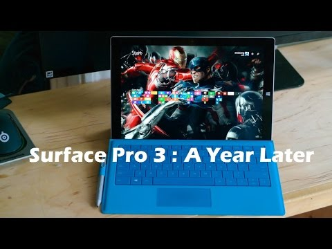 Surface Pro 3: Bir Yıl Gözden Geçirin