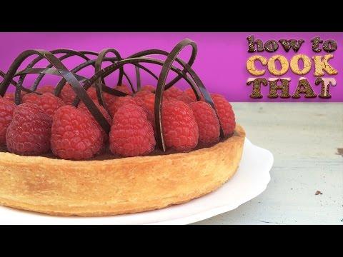 Çikolata Frambuazlı Tart Tarifi Bu Ann Reardon Yemek Yapmayı
