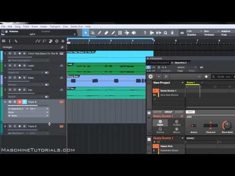 Maschine 2,3 Kayıt Mıdı Presonus Studio Bir 3