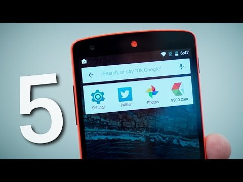 5 Android M Gizli Özellikler!