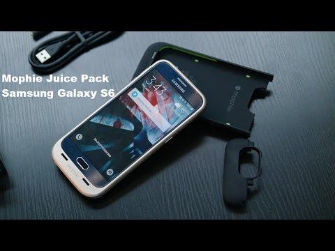 Mophie Samsung Galaxy S6 Suyu Paketi Gözden Geçirme