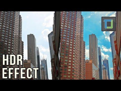 Nasıl Photoshop Cs6 Hdr Peyzaj Düzenleme | Fotoğraf Efektleri [Bölüm 19]