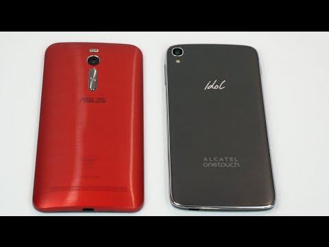 Asus Zenfone 2 Vs.  Alcatel Onetouch Idol 3 Karşılaştırma Smackdown