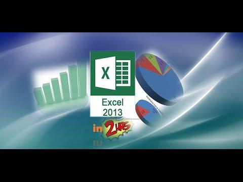 Excel 2010 Tam Öğretici Temel İçin Gelişmiş Bölüm 1 / 2 - 1 Saat İçinde Bir Profesyonel Haline
