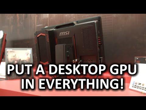 Masaüstü Ekran Kartı Bir Aıo İçinde!? -Msı Ax24 Aıo Ve Güncellenme Zamanı Oyun Dock Mini