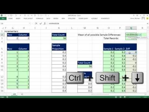 Excel Sihir Numarası 1205: İndis İşlevi Ve Formül Numarası Incrementers İle Verileri Yeniden Düzenleyin.