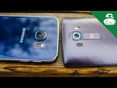 Lg G4 Vs Samsung Galaxy S6 / S6 Kenar - Kamera Shootout!