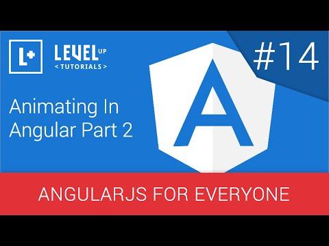 Açısal Bölüm 2 - Angularjs Herkes İçin #14 Hareketlendirme