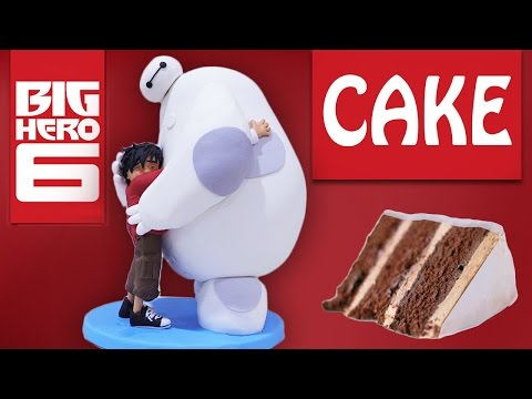 Baymax Büyük Kahraman 6 Kek O Ann Reardon Yemek Yapmayı