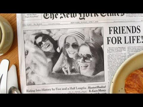 Photoshop: Bir Gazete Fotoğraf Efekti Ve Özel Başlık Oluşturun!
