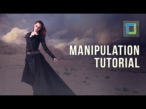Photoshop Fotoğraf Manipülasyon Eğitimi | Çöl Kız | Fotoğraf Efektleri [Bölüm 20]
