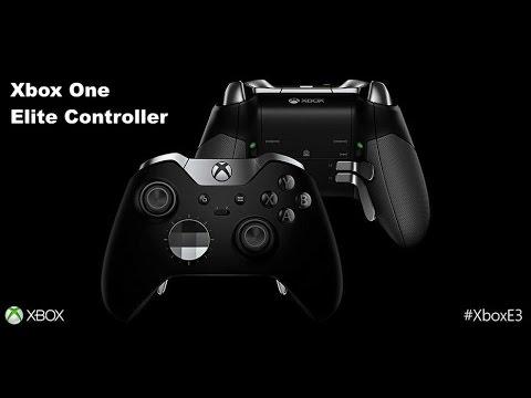 """Yeni Xbox Bir """"elit Denetleyicisi"""" Gösterim"""